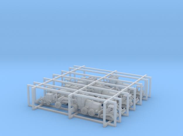 Caterpillar Equipment Set - 1:285 scale in Smooth Fine Detail Plastic