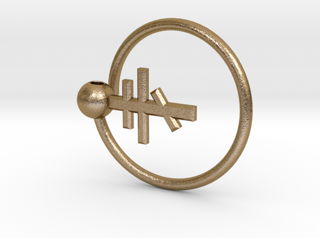Magic Keyring with Orthodox Cross 3d printed