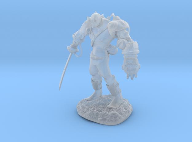 Mech Warrior1 20mm high 3d printed
