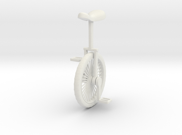 UNICYCLE 3d printed