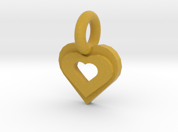 heart in Full Color Sandstone