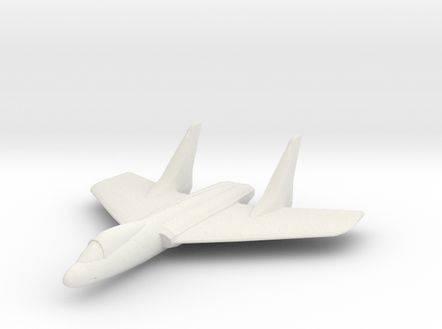 F7U Cutlass 1:300 x1 3d printed