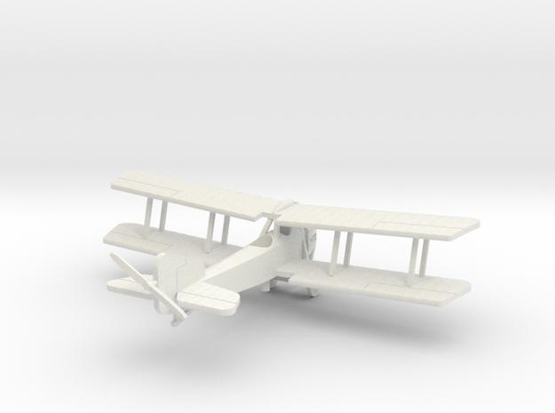 AW FK.8 Big Ack 1/144th scale Oleo Landing Gear in White Natural Versatile Plastic