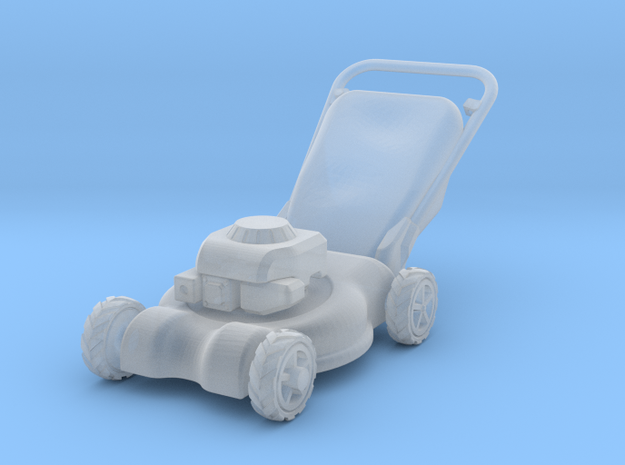 Lawn Mower 1:35 scale in Smooth Fine Detail Plastic