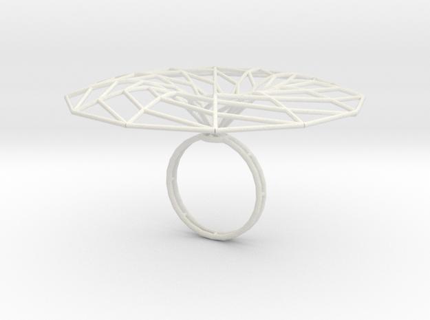 minimal surface catenoid 12 | ring P 3d printed