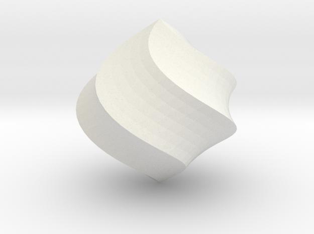 Cream in White Natural Versatile Plastic