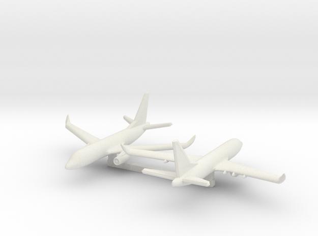 1/700 Boeing 737-700 in White Natural Versatile Plastic