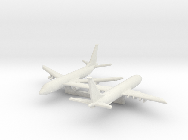 1/700 Boeing P-8 Poseidon in White Natural Versatile Plastic