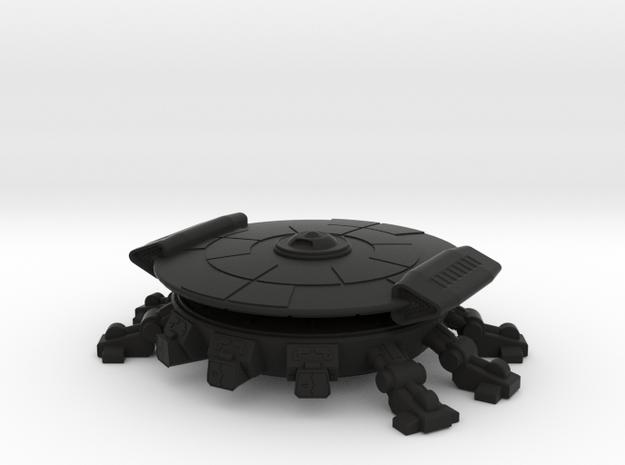 Fang Warp Lander (fixed) 3d printed