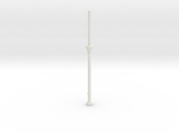 C1X Column Stub in White Natural Versatile Plastic