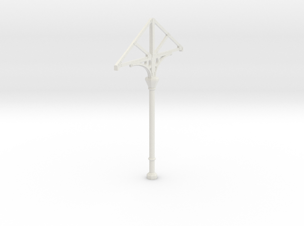 C1X Column  in White Natural Versatile Plastic