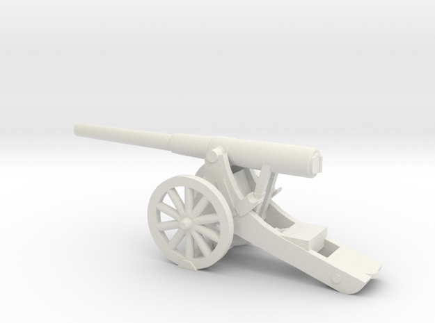 5-Inch BL Siege Rifle  15mm in White Natural Versatile Plastic