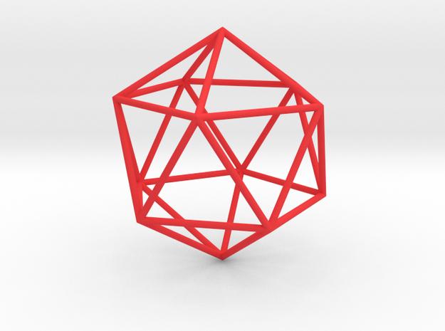 Icosahedron 100mm 3d printed