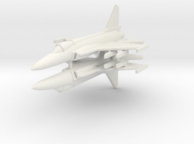 1/285 JF-17 Thunder (x2) in White Strong & Flexible