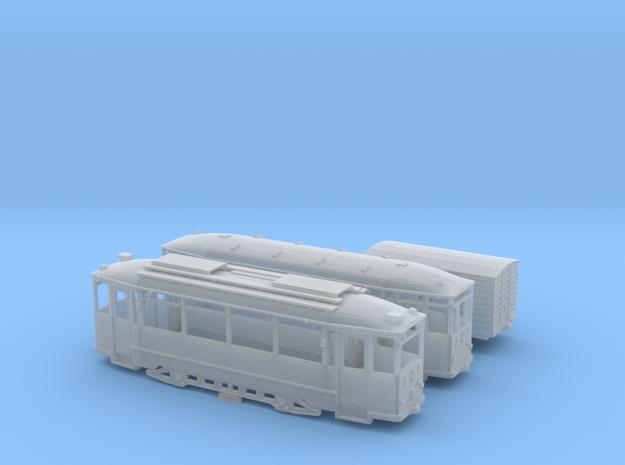 Hist. Straßenbahnzug Thüringer Waldbahn Spur N 3d printed