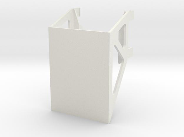 Nylon Support Frame in White Natural Versatile Plastic