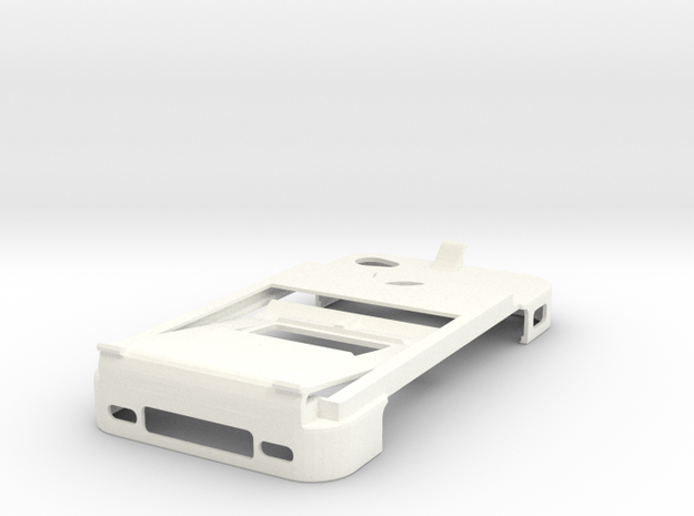 All-in-one Iphone 4 Case, Money clip, bottle opene 3d printed