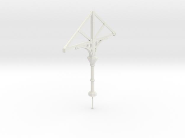C1 Column in White Natural Versatile Plastic