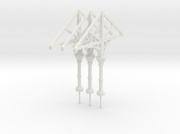 C1 Column x 3 in White Natural Versatile Plastic