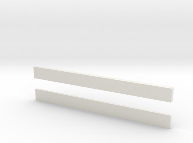 thin bars 5mm width 3d printed