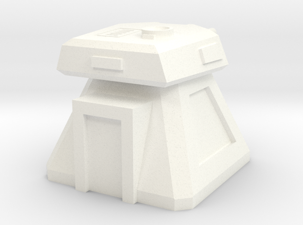 Gun Emplacement (1/160) in White Processed Versatile Plastic