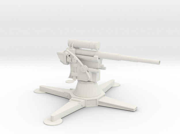 8.8 cm Flak 18/36/37/41 in White Strong & Flexible