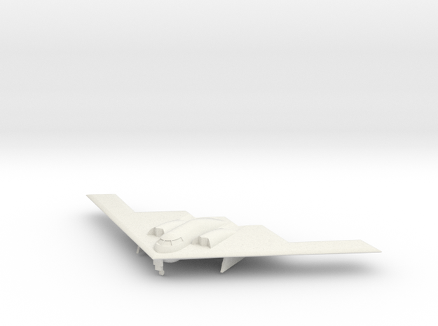 1/350 B-2 Spirit (Landing Gear Down) in White Natural Versatile Plastic