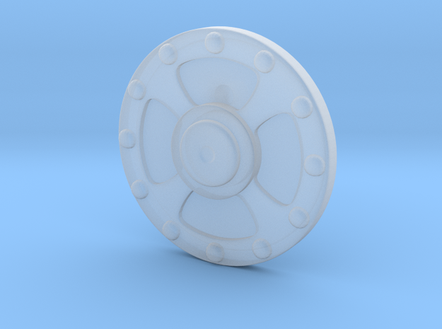 He-Man's Shield scaled for Minimates in Smooth Fine Detail Plastic
