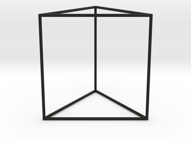 triangular prism 70mm 3d printed