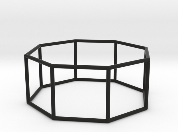 octagonal prism 70mm 3d printed