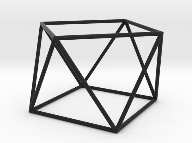 square antiprism 70mm 3d printed