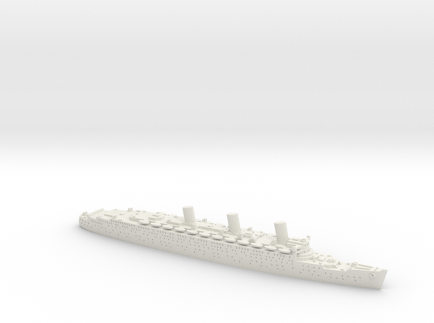 RMS Queen Mary in White Natural Versatile Plastic