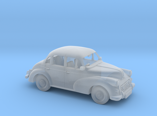 Morris Minor 1:120 in Smooth Fine Detail Plastic