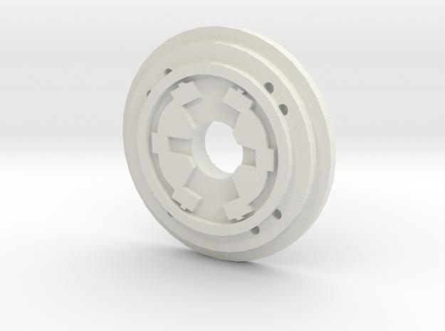 Corsec Pommel Insert  in White Natural Versatile Plastic