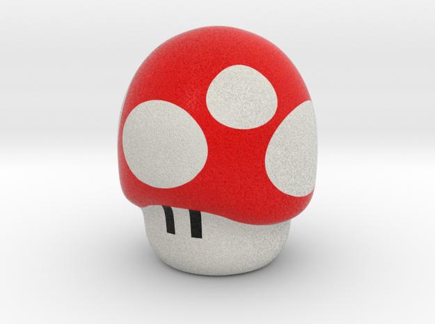 Super Mario Mushroom - Pencil Accesory in Full Color Sandstone