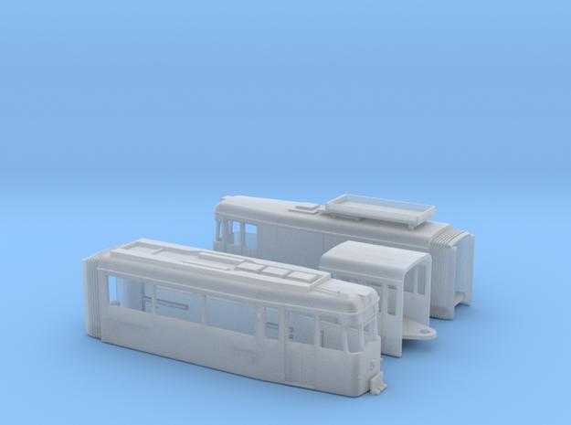 Arbeitstriebwagen Gotha G4-67 Erfurt Spur N (1:160 3d printed