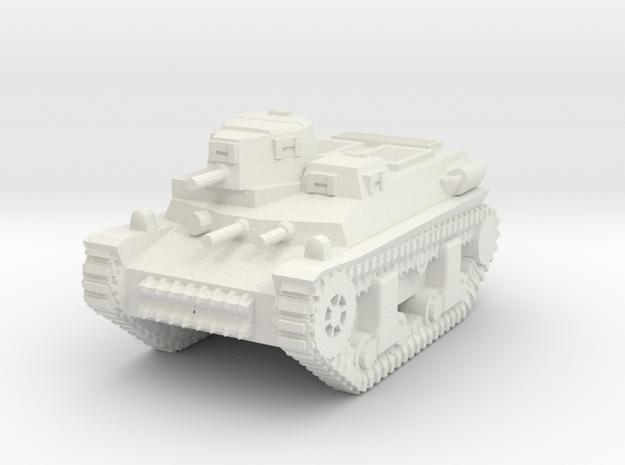 1/100 Marmon-Herrington T16 (CTLS-4 TAY) Tank in White Natural Versatile Plastic