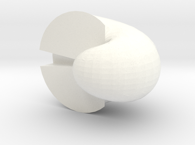 The Exterior Angle 3d printed
