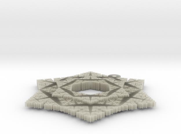 Cesaro Snowflake - 4 3d printed