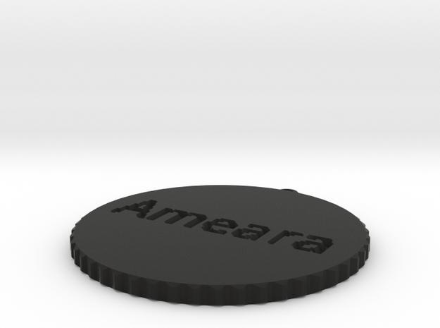 by kelecrea, engraved: Ameara's Ankh 3d printed