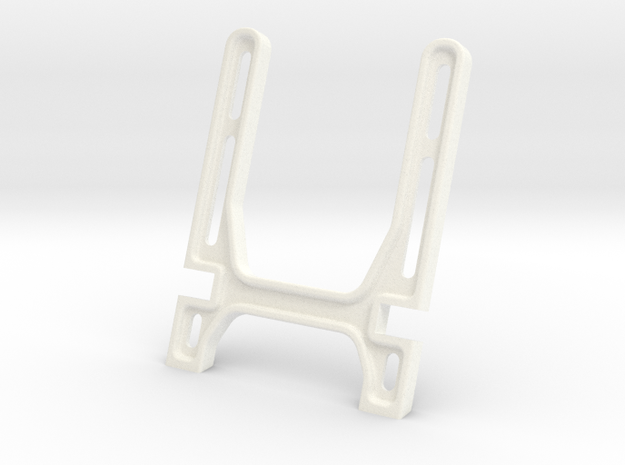 DOCKING STAND ARMS in White Strong & Flexible Polished