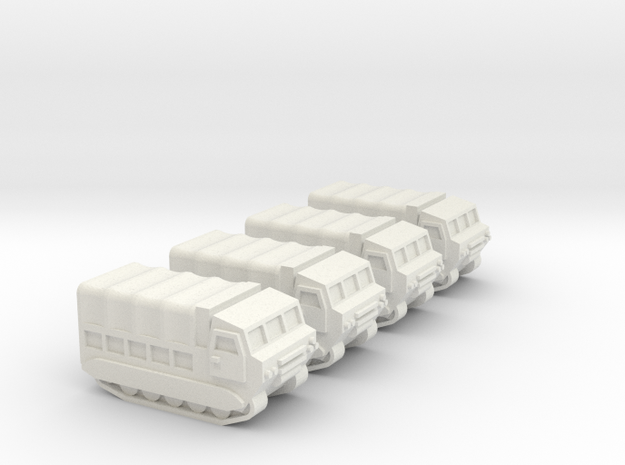 3mm M548 - Covered Wagon, No Ring-Mount (4 pcs) 3d printed