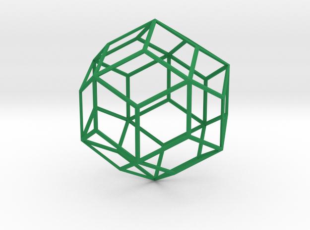 Rhombic Triacontahedron 3d printed
