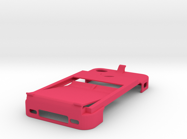 Sleek All-in-one Iphone 4 Case, Card Holder, Money 3d printed