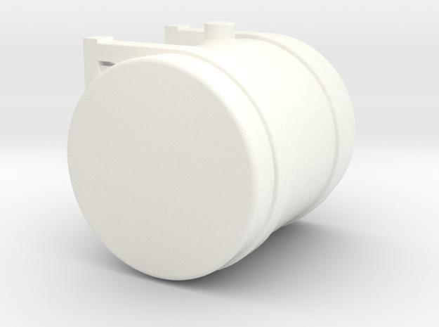 1/50th Scale 50 gallon diesel Fuel or Hydraulic Oi in White Processed Versatile Plastic