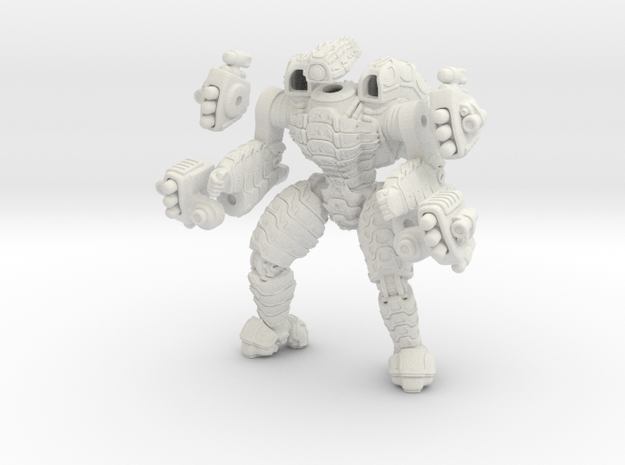 Mech suit with twin missile pods. (10) 3d printed