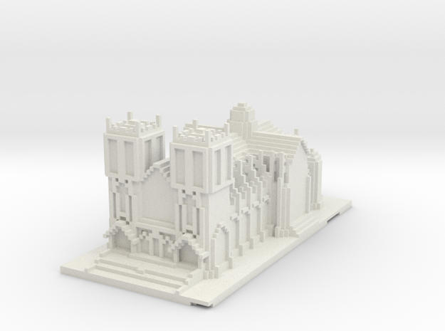 cathedral wrl 3d printed