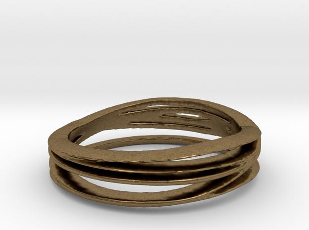 Anello bronzo misura7 3d printed