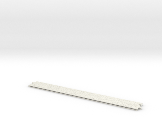Pflaster Mitte G1 2x 222mm V2 in White Natural Versatile Plastic