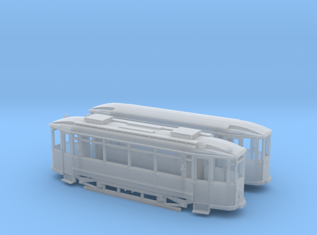 Tram Waggonfabrik Lindner Spur TTm (1:120) 3d printed